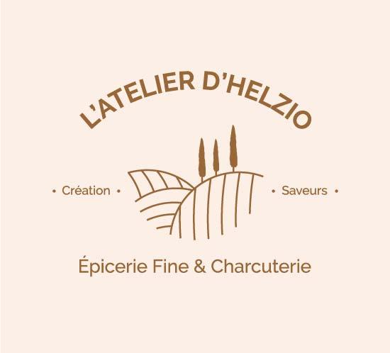 réalisation de la communication del'épicerie en ligne l'atelier d'helzio par l'agence de communication Eklos sur Nantes